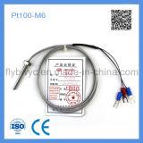 PT100-M6 du capteur de température de la Vis fixe