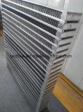 알루미늄 공기에 의하여 냉각되는 격판덮개와 바 열교환기 코어