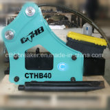 Sb40 4tonne 5 tonne brise roche hydraulique de pelle pour Yanmar Vio45-6b de Yantai