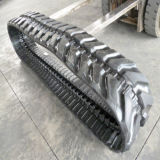 Trilhos de borracha para escavadeira 400 * 72.5 * 76W para Caterpillar 305ccr