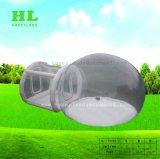 Aufblasbares transparentes Ballon-Form-Zelt bequem zu tragen