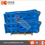 Aprire l'interruttore concreto idraulico montato per PC210