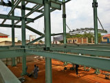 鉄骨構造の研修会、倉庫、高層ビルのための金属製造
