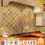 거실 (C655032)를 위한 Ramdom Shape Golden Color Ceramic Mosaic