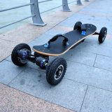 Skate elétrico poderoso de 4 rodas com motor duplo 1650W