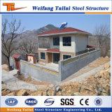Baixo edifício Prefab personalizado China da construção de aço da luz da casa do custo