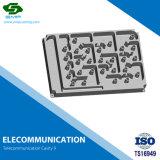 알루미늄 ISO/Ts 16949 OEM 원거리 통신 구멍은 주물을 정지한다