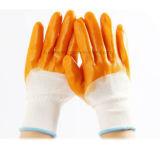 Рабочие перчатки покрытие нитриловые перчатки промышленной безопасности