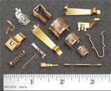 Contatos da bateria e contatos elétricos usados em componentes eletrônicos