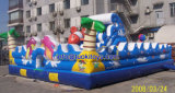 Inflable deporte Bouncy Castillo para los niños de juguete (B091)