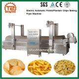 Puces automatiques électriques commerciales de pomme de terre/plantain faisant la machine de friteuse