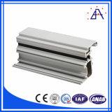 Profil en aluminium allié par produit neuf de type pour la porte d'oscillation