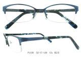 스테인리스 고품질 및 여자를 위한 아세테이트 조합 안경알 프레임