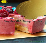 Wasserdichtes Round Cake Boards mit Flower Edges für Cake Shops mit SGS (B&_K064)