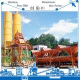 De riem vervoert Concrete het Mengen zich van het Cement Hzs35 Installatie in Sri Lanka