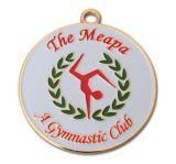 Подгонянное медаль металла спорта меди серебра золота никеля