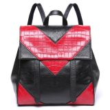 Sacs à dos en cuir véritable Sacs scolaires pour sac bandoulière Emg4670
