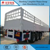多目的のための12PCS容器ロックが付いている半13mの貨物輸送のトレーラーの頑丈なトラック