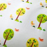 200Nombre de threads de linge de lit en coton imprimé