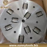 Casquilho de diamante rotativo do Rolete do martelo para uso em granito