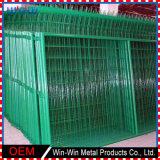 China suministros temporal de alambre de metal de hierro forjado White Picket Fence