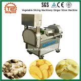 Máquinas de fatiar vegetais Melhor Preço Gengibre cortador com pedal Máquina na China
