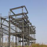 Het vervaardigde PoortPakhuis van de Structuur van het Staal