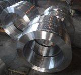 O CNC fêz à máquina o anel forjado do aço de liga