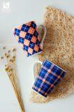Taza de café de cerámica de China de la insignia del cliente 10oz 12oz 14oz
