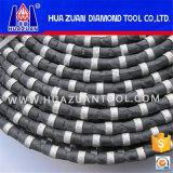 Serra de arame de diamante de 11,5 mm de diâmetro para Corte de granito