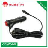Auto Motorbike 12V 24V Cigarette Lighter Power Supply Adapter Charger Cable