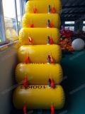 Sacos de água para o barco no Teste de Carga