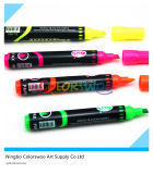 4PCS Hot Selling Highlighter Marker Pen pour l'école et le bureau