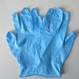 Синий одноразовые нитриловые перчатки для исследования стоматология