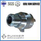 Peça fazendo à máquina feita à máquina da trituração do torno do CNC da maquinaria aço de alumínio/inoxidável