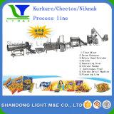 Entièrement automatique maïs extrudé industrielle Nik Naks Ligne de traitement