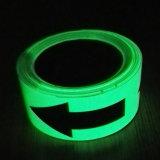 Photoluminescent Pfeilspitzen-Muster-Fußboden-Markierungs-Band