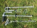 Hot-DIP 직류 전기를 통한 시골 문 활 이음쇠