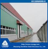 Edifício de aço do projeto claro da vertente da construção de aço