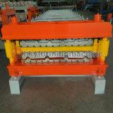 El color de rodillo máquina de formación de doble capa de acero