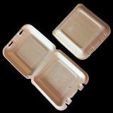 Termoformagem espuma biodegradável descartável de amido de milho bandejas de embalagens de alimentos
