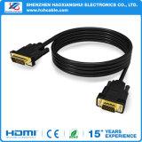 2016 высокого качества 24+1 VGA-DVI M /м кабель