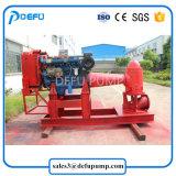 Hohe Fluss-Dieselmotor-vertikale lange Welle-Feuerbekämpfung-Wasser-Pumpe