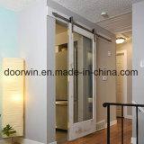 لوند وحيدة يهمر باب زجاجيّة [ميرّوو] [سلييدنغ] أبواب مع صنوبر/[وأك ووود] إطار