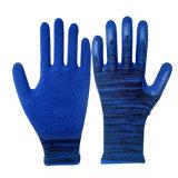 gants de fini de mousse enduits par latex d'interpréteur de commandes interactif du polyester 13G