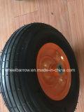 3.00-4 Rotella pratica di gomma della carriola del reticolo con il tubo interno