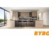 De nieuwe In het groot Keukenkast van de Lak van het Ontwerp Moderne Hoge Glanzende (door-l-156)