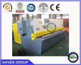 QC11y-16X4000 유압 단두대 깎는 기계, 강철 플레이트 절단기