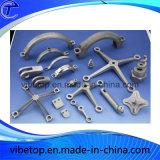 CNC que trabaja a máquina para las piezas de metal por encargo componentes de aluminio