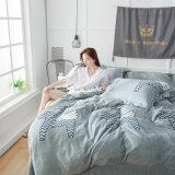 постельные принадлежности ватки фланели 4PCS устанавливают комплект покрывала